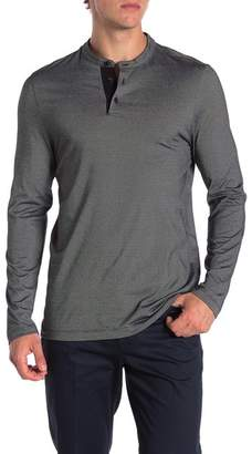 Perry Ellis Active Feeder Stripe Henley