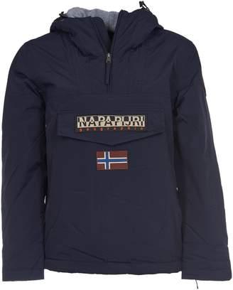 Napapijri Hooded Logo Jacket