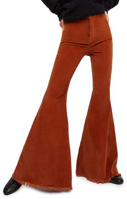 Free People Just Float Corduroy Flare Pants