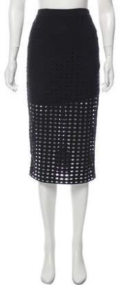 Alexander Wang Cutout Midi Skirt