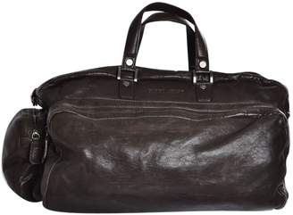 Giorgio Armani Leather weekend bag