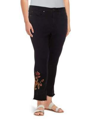 Seven7 High-Rise Skinny Ankle Jeans