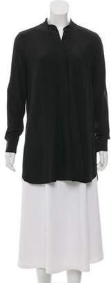 Joseph Silk Long Sleeve Tunic