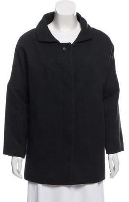 Comptoir des Cotonniers Wool Short Coat