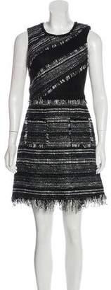 Mcfadin Tweed Sleeveless Dress