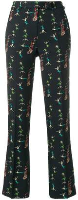 Etro circus print tailored trousers