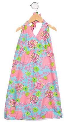Lilly Pulitzer Girls' Printed Halter Dress
