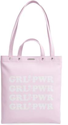 Rebecca Minkoff Girl Power North/South Leather Tote