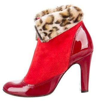 Marc by Marc Jacobs Suede Ankle Boots $145 thestylecure.com