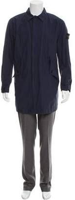 Stone Island Hooded Lightweight Topcoat