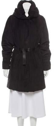 Allegri Belted Knee-Length Coat