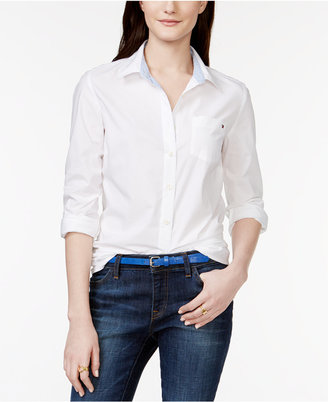 Tommy Hilfiger Logo Shirt, Only at Macy's $49.50 thestylecure.com