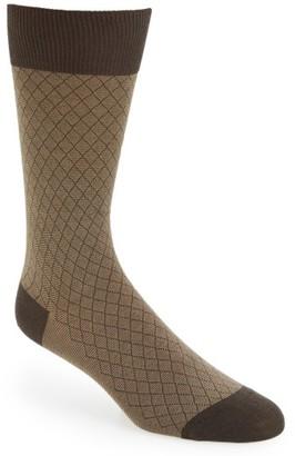 Men's Pantherella Diamond Socks $30 thestylecure.com