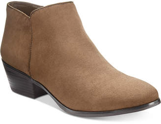 Style&Co. Style & Co Wileyy Ankle Booties, Created for Macy's Women's Shoes