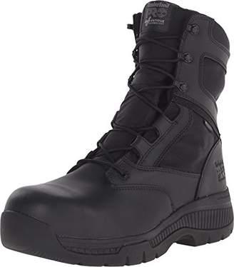 Timberland Men's 8 Inch Valor Comp Toe Waterproof Side Zip Work Boot