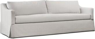 "Uniquely Furnished 96"" Laine Dressmaker Sofa Uniquely Furnished"