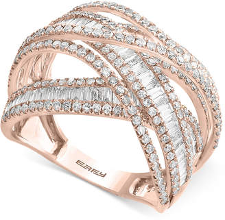 Effy Diamond Multi-Band Weave-Style Ring (2 ct. t.w.)
