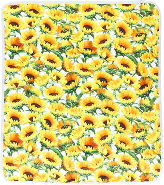 Molo sunflower print blanket