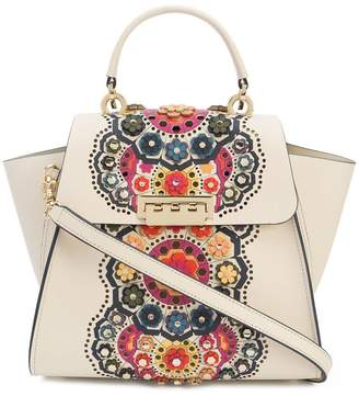 Zac Posen Eartha floral appliqué backpack