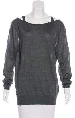 Theyskens' Theory Cashmere Belted Top