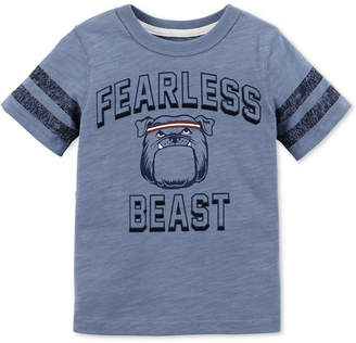 Carter's Toddler Boys Fearless-Print T-Shirt
