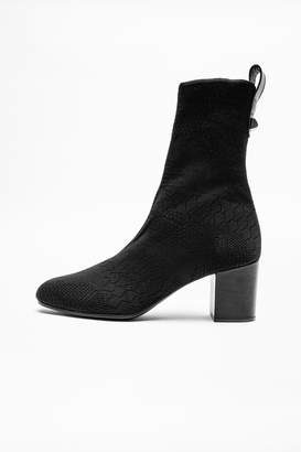 Zadig & Voltaire Lena Stretch Boots