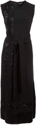 Derek Lam Sleeveless Sequin Embroidered Dress