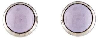 Hermes Enamel Stud Earrings