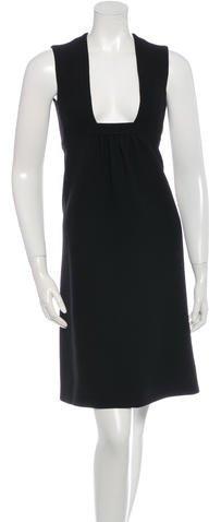 pradaPrada Sleeveless Wool Dress