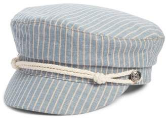 BP Rope Detail Stripe Baker Boy Hat