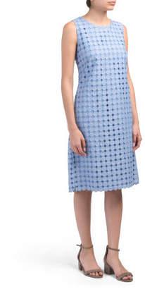 Val Eyelet Dress