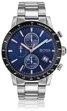 HUGO BOSS Rafale Competitive Sport, Chronograph Stainless Steel Watch 1513510 One Size Assorted-Pre-Pack