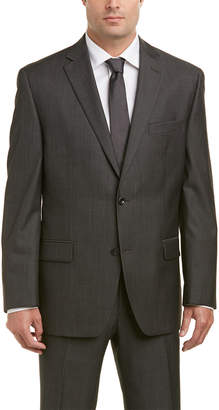 Michael Kors Wool Suit With Flat Front Pant