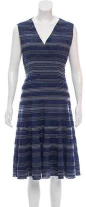 Tory Burch Patterned Midi Dress