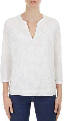 Gerard Darel Paul Floral Appliqué Top