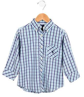 Ralph Lauren Boys' Printed Button-Up Shirt