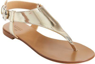 Barneys New York CO-OP Metallic Thong Sandal