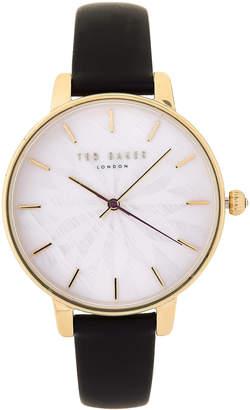 Ted Baker TE15200003 Gold-Tone & Black Kate Watch