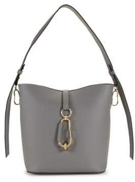 Zac Posen Classic Leather Convertible Hobo Bag