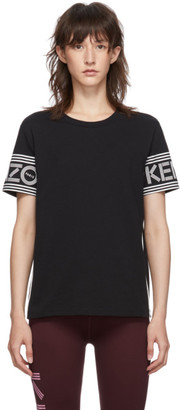 Kenzo Black Logo Piping T-Shirt