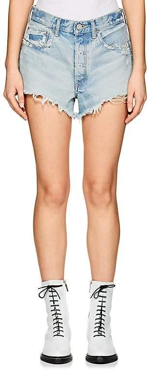Women's Etna Distressed Denim Cutoff Shorts