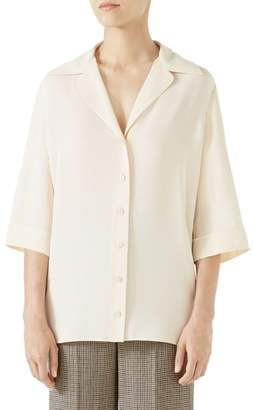 Gucci Hypnotism Button-Up Top