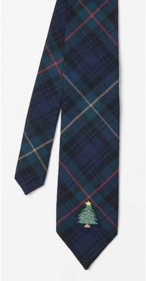 J.Mclaughlin Wool Tie in Christmas Tree
