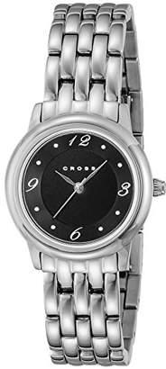 Cross [クロス 腕時計 Chicago ブラック文字盤 WFAK23R レディース 【正規輸入品】