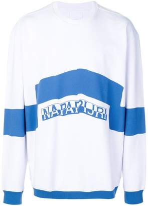 Martine Rose Napa By colour-block oversized sweatshirt