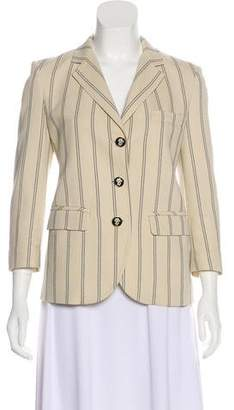 Tory Burch Stripe Textured Blazer