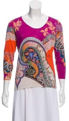 Etro Knit Silk Sweater