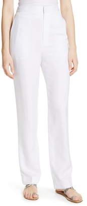 Tibi Sebastian High Waist Suiting Pants