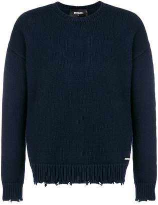 DSQUARED2 round neck jumper