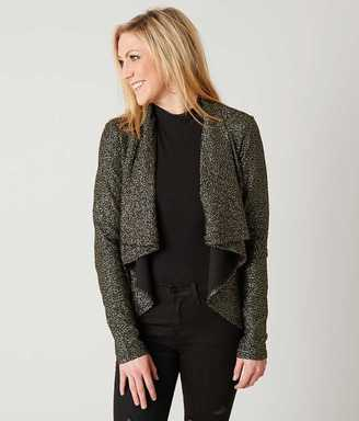 Mimi Chica Metallic Blazer $39.95 thestylecure.com